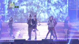 2012 MelOn Music Awards: 2NE1