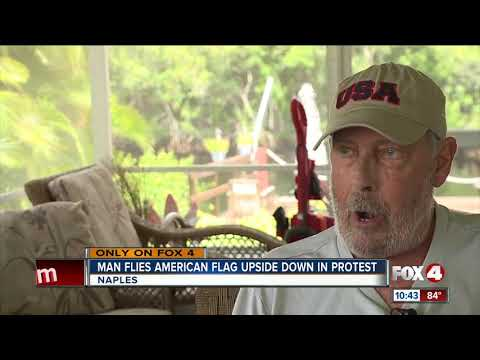 Upside Down American Flag Leaves Neighbors Upset In Naples