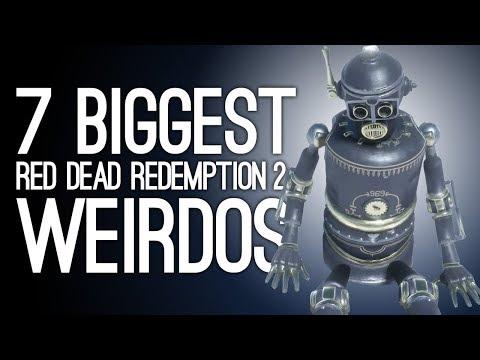 7 Biggest Weirdos in Red Dead Redemption 2's Weird Wild West thumbnail