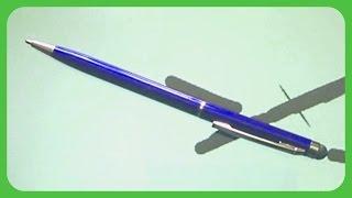 видео Ручка 2 в 1, емкостной стилус и шариковая ручка