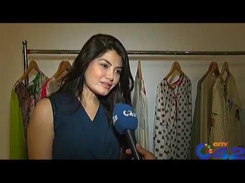 42 Report:  Fashion Designer Sam Ali Dada Eid collection exhibition with Adil Barki performance
