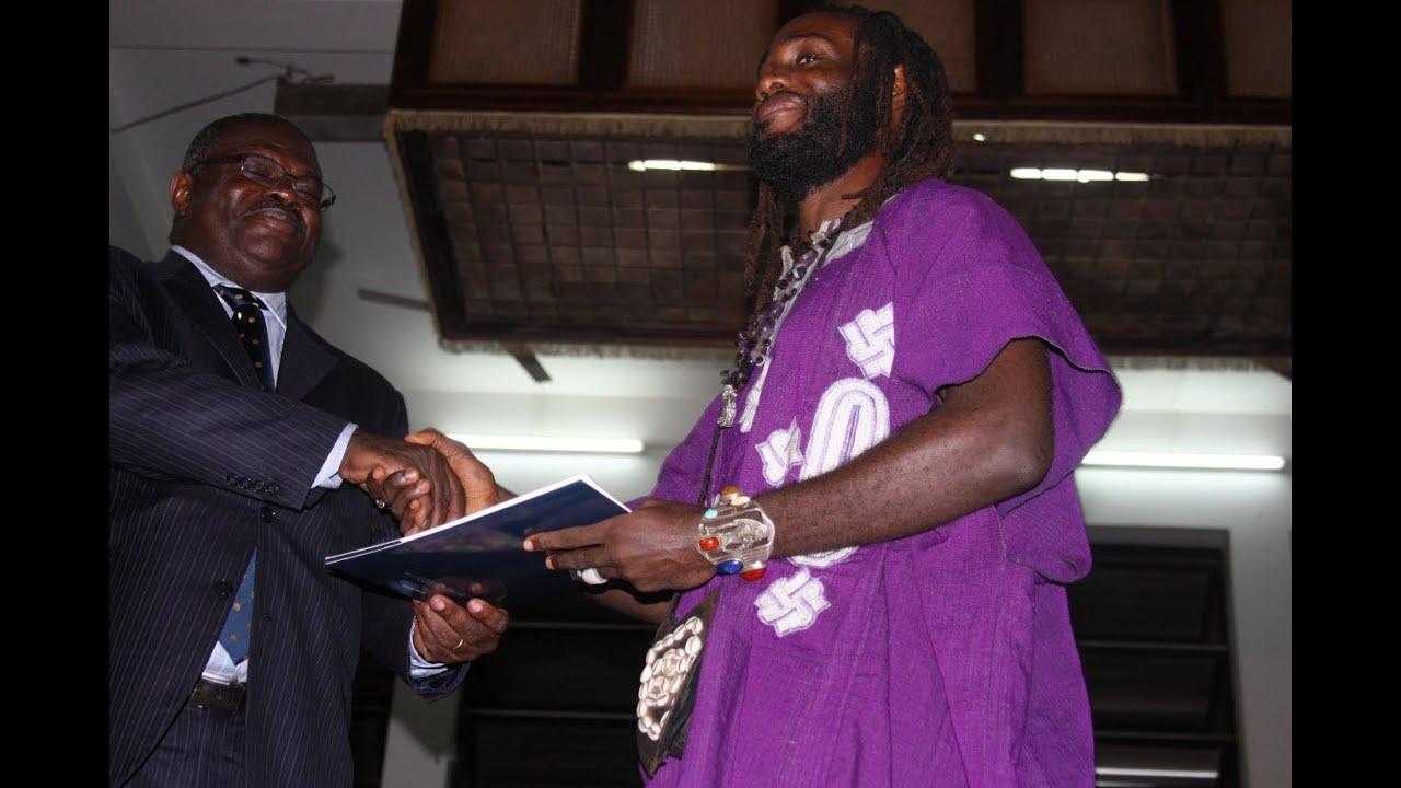 Dr. Obadele Kambon 2013 UG-Legon Vice Chancellor's Award for Outstanding Thesis - Humanities