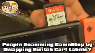Scamming Gamestop Trade Ins By Swapping Switch Cart Labels