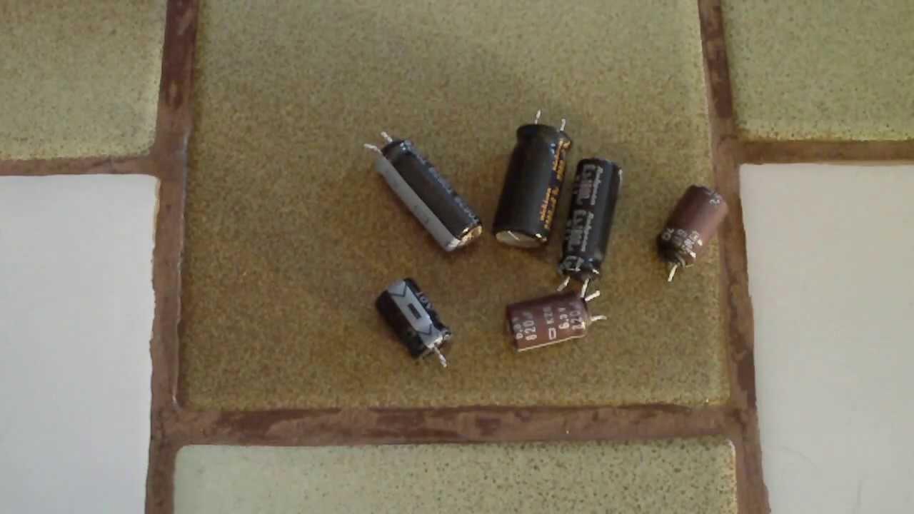 Savoir reconna tre un condensateur mort hs grill youtube - Ou peut on recuperer des palettes ...