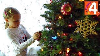 США Покупаем и Украшаем Новогоднюю Елку ВЛОГ Наша  Елка! Новый Год и Рождество в Америке