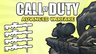 Quad Feed With Every Gun! (Call of Duty: Advanced Warfare)