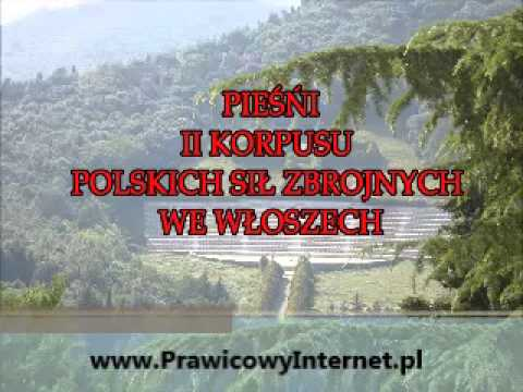 Pan Antoni, rach ciach ciach - Gwidon Borucki - Pieśni II Korpusu Polskich Sił Zbrojnych we Włoszech