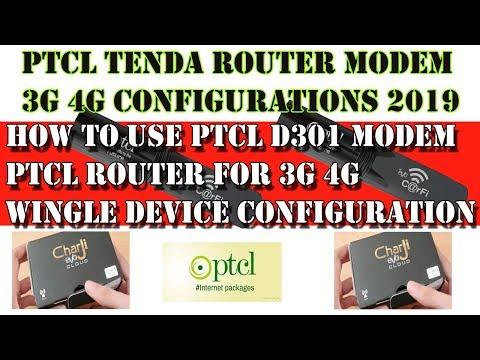 ptcl modem setting