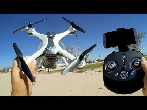 FX-8G Master GPS 1080p Full HD Follow Me Camera Drone Flight Test Review