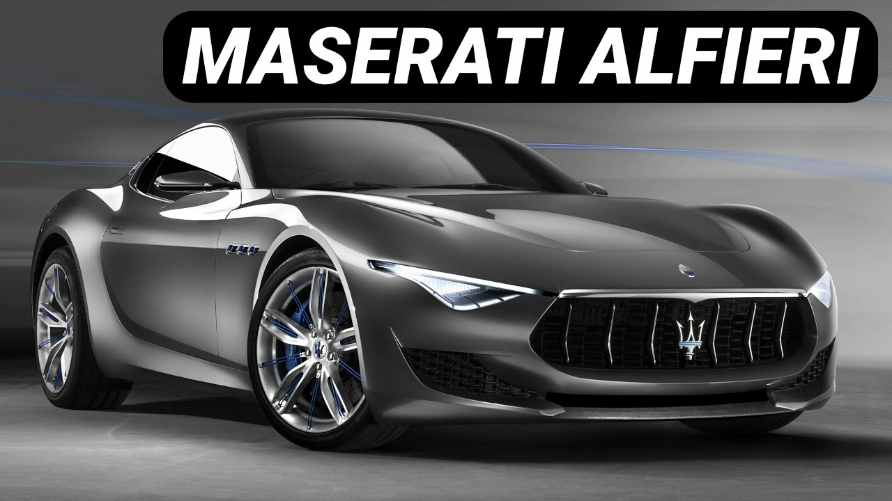 maserati alfieri concept car youtube. Black Bedroom Furniture Sets. Home Design Ideas