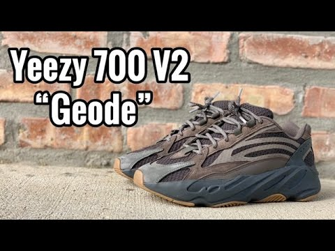 "07fc5663dcff9 adidas Yeezy 700 V2 ""Geode"" review - YouTube"