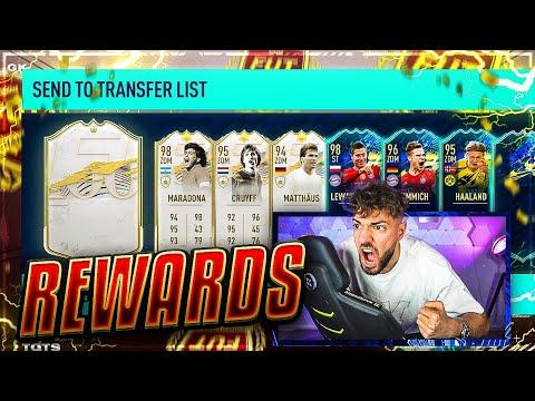 WIEDER PACK LUCK! 😳 TOTS Rewards GÖNNEN KOMPLETT in FIFA 21 🔥🔥