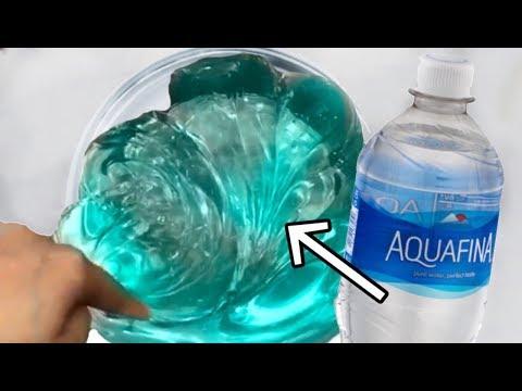 1-ingredient-slime-💧-❓+-water-=-slime