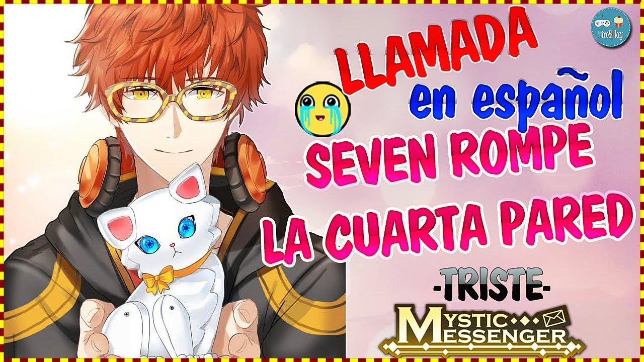 Seven rompe la cuarta pared *TRISTE* ~ MYSTIC MESSENGER EN ESPAÑOL ...
