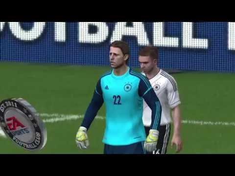 FIFA 14 | Duitsland - Frankrijk (Duits commentaar)