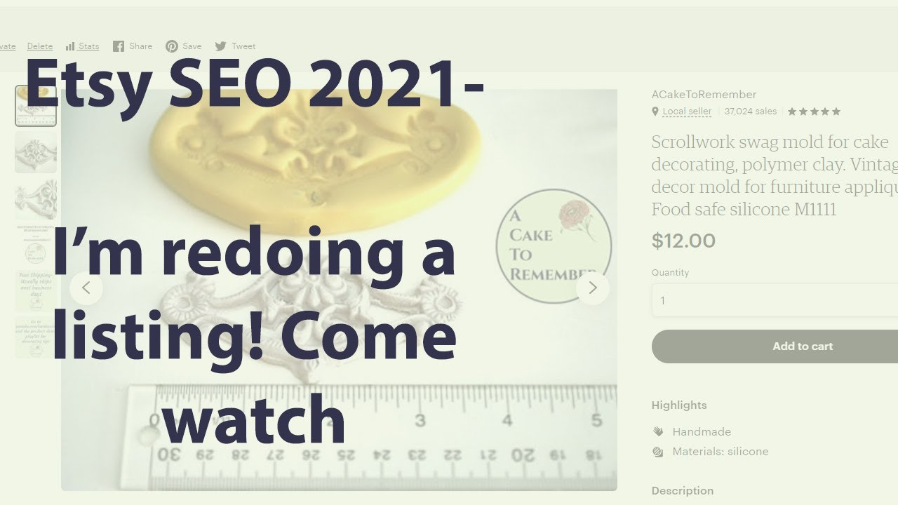 Etsy SEO 2021 Title and Tags rewrite. How to write your title and tags.