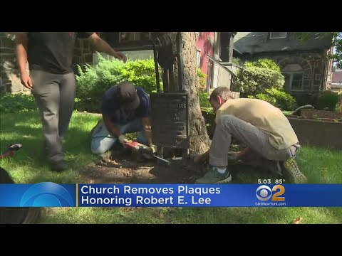 Plaques Honoring Robert E. Lee Removed From Brooklyn Church's Property