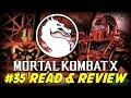 Mortal Kombat X #35 Sub-Zero VS Cold Steel (Read & Review)