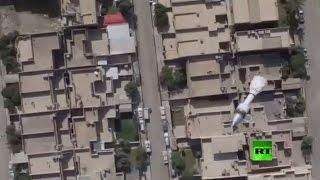القوات العراقية تستخدم طائرة من دون طيار لقصف مواقع