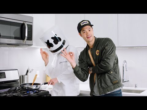 Cooking Sweet & Sour Malaysian Chilli Crab with Ross Butler | Cooking With Marshmello