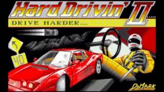 Amiga 500 Hard drivin 2 - Title music cover