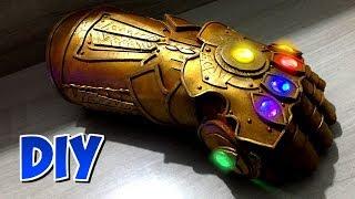 Manopla do Infinito do Thanos - Vingadores Guerra Infinita DIY.