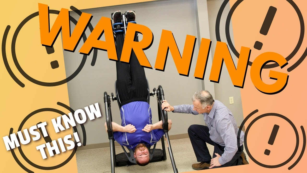 Download Sciatic Pain Relief with Inversion Table. Warning You Must Know 3 Things