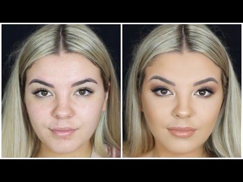 Soft, Bronzey Smokey Eye Makeup Tutorial