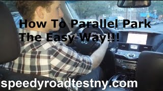 How To Parallel Park The Easy Way!!!