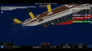 Playing ROBLOX-Titanic!
