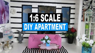 How To Make A Dollhouse Apartment For Monster High, Barbie, Eah Dolls