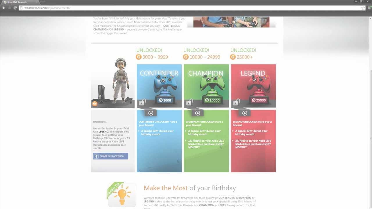 xbox live my achievements rewards program xbox live my achievements rewards program