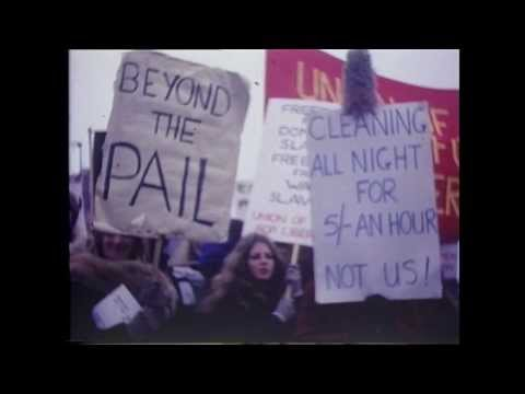 1971 first Women's Liberation Movement march - UCL students