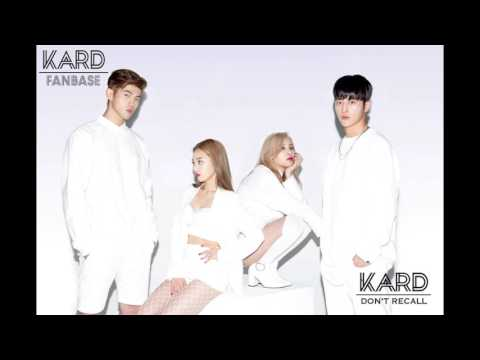 [Audio] KARD - Don't Recall (1 hour loop)