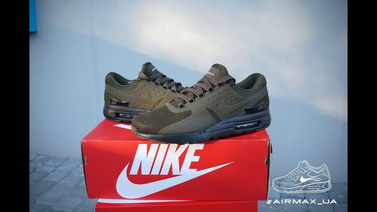 f0075d3aed Nike Air Max Zero Premium Dark Loden olive black - YouTube