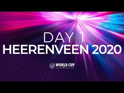 Day 1 | World Cup | Final | Heerenveen 2020 | #SpeedSkating
