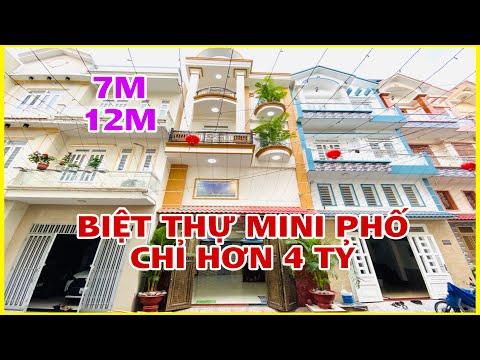 Mẫu Nhà Ngang 5.5m Nở Hậu 7M Rất Hiếm Có Khu Nhà Lầu Cao Cấp Chỉ Hơn 4 Tỷ |548| Nhà Đẹp Sài Gòn