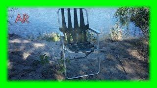 Ремонт раскладного садового стула/кресла