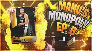MANU S MONOPOLY EP 8!! NEAR 50 PT DOUBLE DOUBLE IN HUGE BLOW OUT!