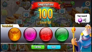 Collected all Dragon City Orb: Green, Purple, Red, Golden Orbs from Tournament