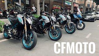 Giới thiệu 4 mẫu xe của CFMoto