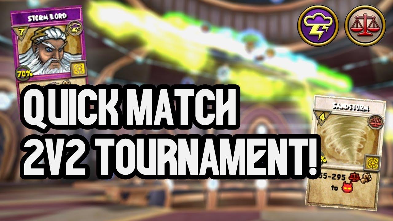 Wizard101 2v2 Quick Match Tournament!