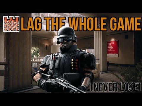 (OP) Lag The Whole Game Glitch! Gamebreaking Castle Glitch - Rainbow Six Siege