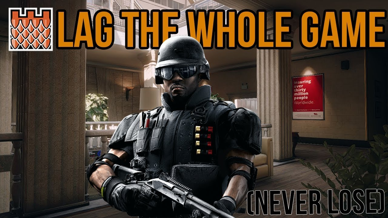 How to fix lag in rainbow six siege