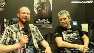 GC17 - Mount & Blade 2: Bannerlord - Interview with Developer (Eng.)