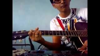 Na tum jaano na hum ( Kaho na pyar hai) guitar lesson by Mykee