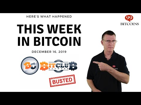 This week in Bitcoin – Dec 16th, 2019