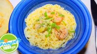 Angel Hair Pasta With Garlic Shrimp Simple Recipe Video Teaser