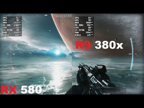 RX 580 Vs R9 380x