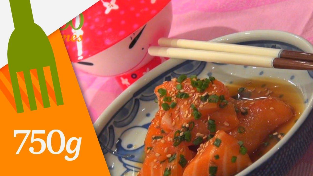 recette de sashimi de saumon - 750 grammes - youtube